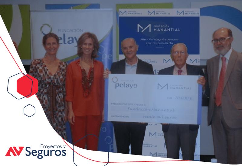 La Fundación Pelayo firma con la Fundación Manantial un acuerdo para la prevención en la infancia