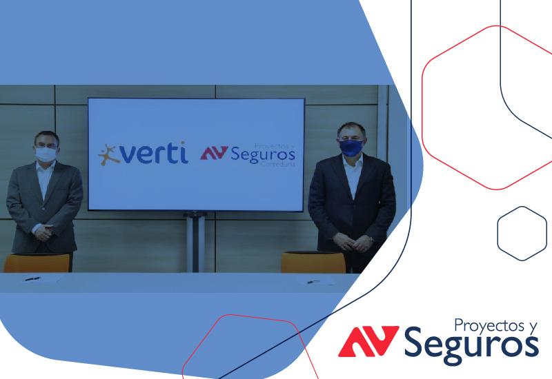 Nuevo acuerdo entre Verti y Proyectos y Seguros
